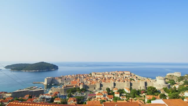WS Sunny,scenic view buildings within Walls of Dubrovnik,Croatia