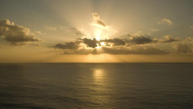 T/L, WS, Sunrise above Byron Bay, New South Wales, Australia