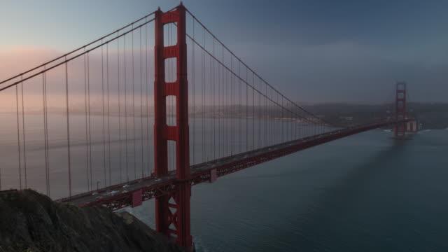 Sunrise at Golden Gate Bridge