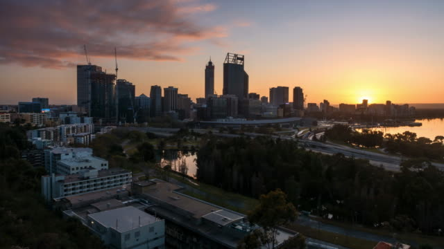 Sunrise at Perth