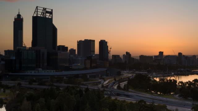 sunrise at perth - western australia bildbanksvideor och videomaterial från bakom kulisserna