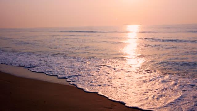 在庫ビデオ海の日の出 - 静かな情景点の映像素材/bロール