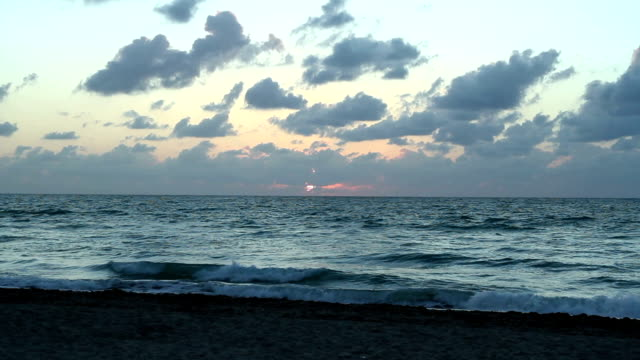 Sunrise at South Beach Miami (Florida)