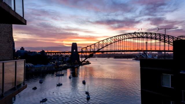 Sunrise at Sydney Harbor Bridge