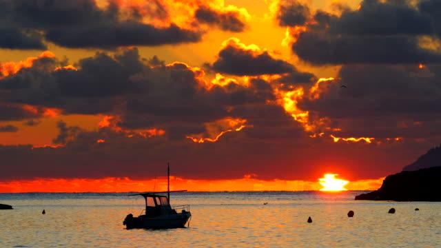 Sunrise at the bay of Alcanada, Alcudia, Majorca, Islas Balears, Spain