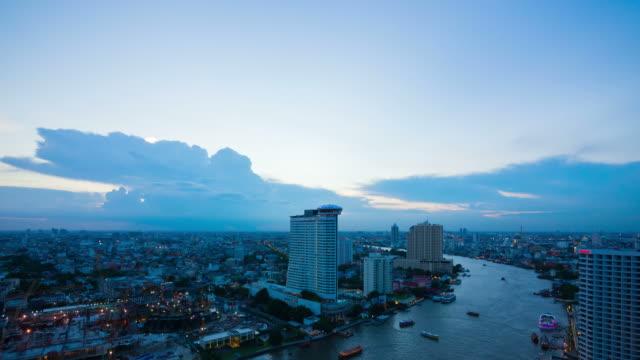 Sunrise Bangkok city
