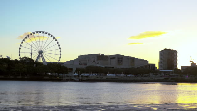 sunrise by the river - wheel stock videos & royalty-free footage