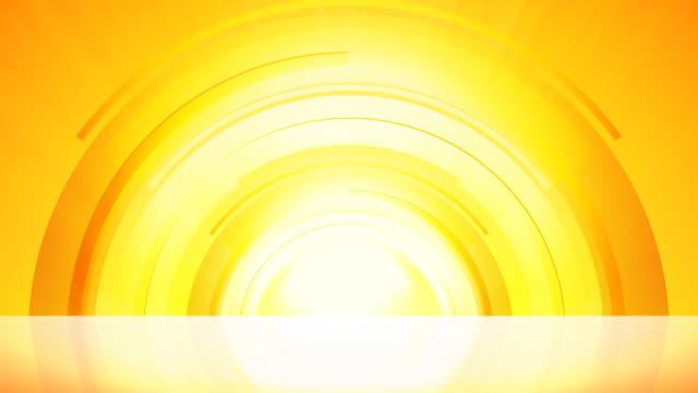 vídeos de stock, filmes e b-roll de sunrise círculos amarela - geração de combustível e energia
