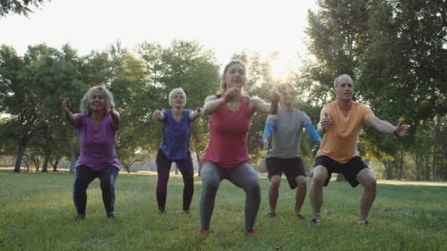 4K SLO MO: Sunrise Fitness