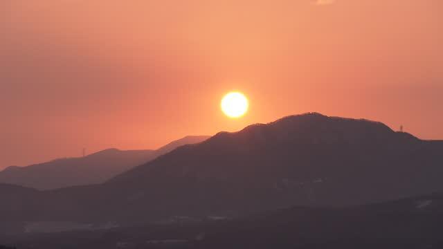 sunrise, gunma, japan - kanto region stock videos & royalty-free footage