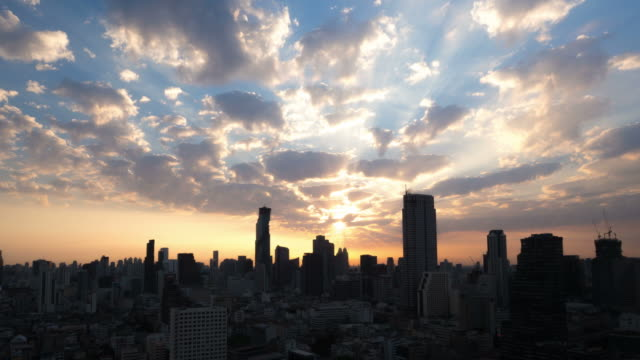 Sunrise in Bangkok,Thailand