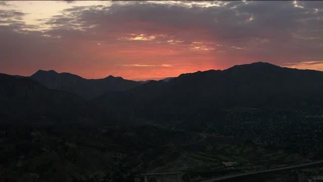Sunrise in San Fernando Valley
