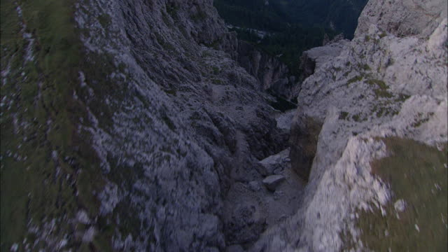 sunrise in the alps - ravine stock videos & royalty-free footage