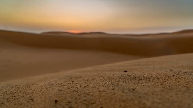 t/l sunrise in the desert - middle east stock videos & royalty-free footage