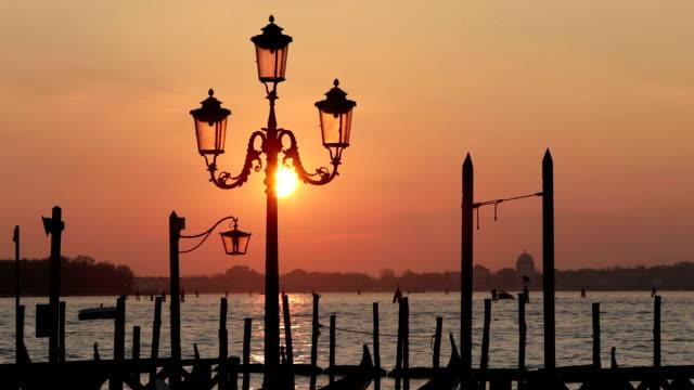 Sunrise in Venice, Italy