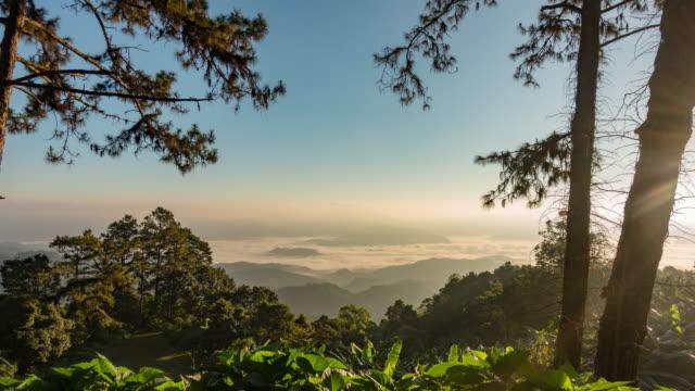 フアイナムダン国立公園の日の出 - 映像技法点の映像素材/bロール