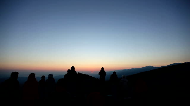 Sunrise of Rila Mountain
