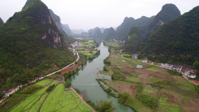 Sunrise of Yulong River,Yangshuo,Guilin,Guangxi,China