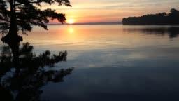 Sunrise on Reelfoot Lake