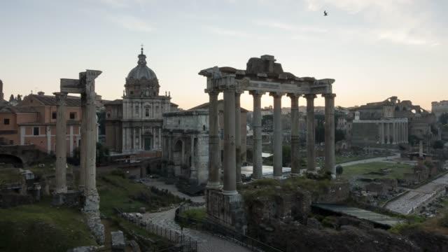 Sunrise on Roman Forum
