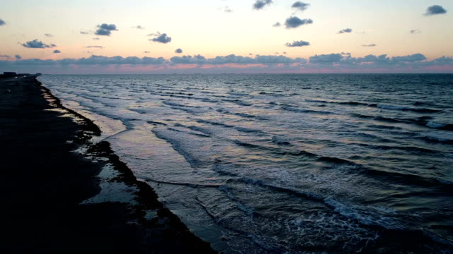 sunrise on the beach - gulf of mexico stock videos and b-roll footage
