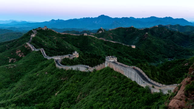 T/L WS HA ZI Sunrise on the Great Wall / Beijing, China
