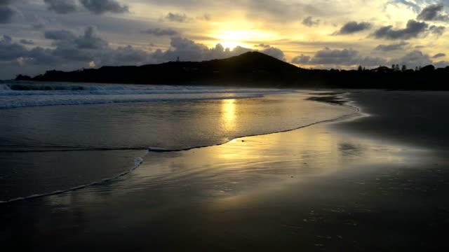 Sunrise over Byron Bay headland