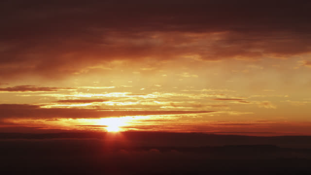 """sunrise over countryside, worcestershire, england - """"bbc natural history"""" stock videos & royalty-free footage"""