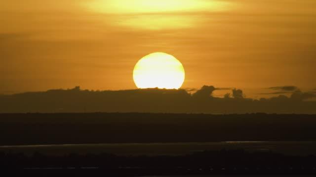 T/L WS Sunrise over Darwin Harbour / Northern Territory, Australia