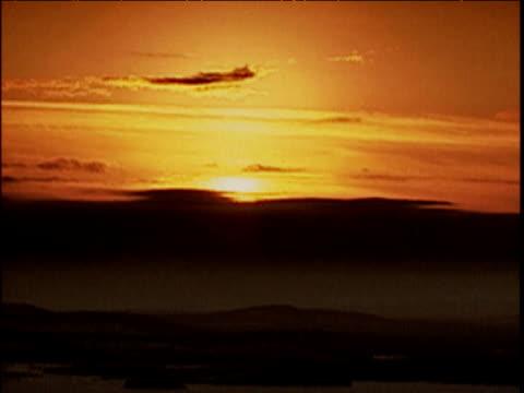 sunrise over desert iran - iran stock videos and b-roll footage