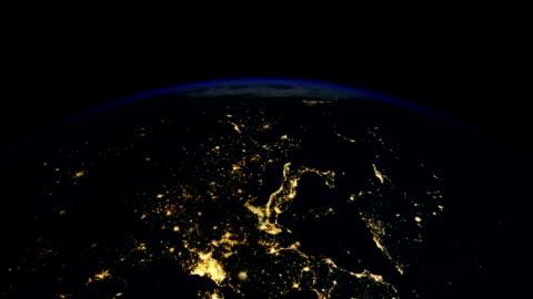 vídeos y material grabado en eventos de stock de sunrise over europe - europa continente