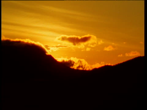 sunrise over hill in african savannah - appearance stock videos & royalty-free footage