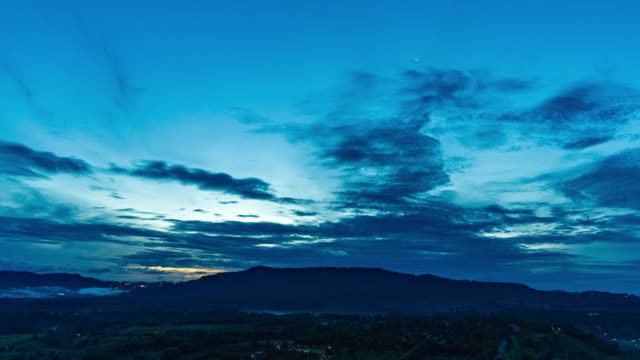 sunrise over mountains, dawn to day time lapse video - dawn to day stock videos & royalty-free footage