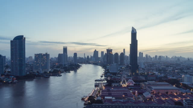 sunrise over the bangkok ,thailand. - june stock videos & royalty-free footage