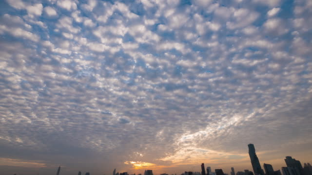 sunrise over the city - fukuoka prefecture stock videos & royalty-free footage