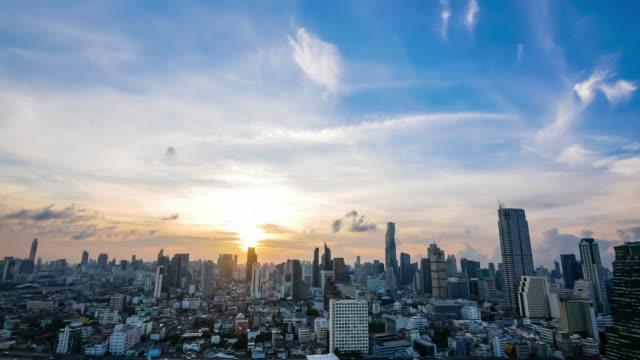 都市の日の出。 - morning点の映像素材/bロール