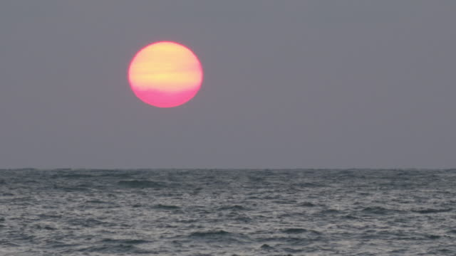 sunrise over the sea - gulf of thailand stock videos & royalty-free footage