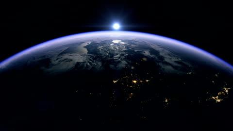 vídeos y material grabado en eventos de stock de sunrise over the usa - ubicaciones geográficas