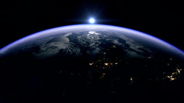 Sunrise over the USA