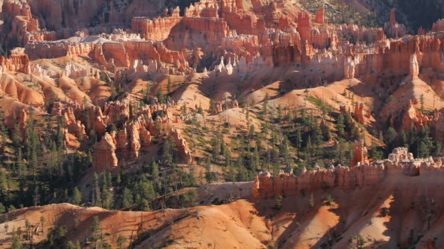 zo, ws, sunrise point,  bryce canyon national park, utah, usa - bryce canyon stock videos and b-roll footage