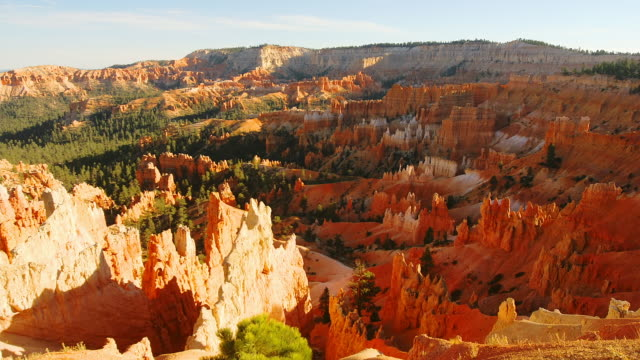 t/l, ws, ha, sunrise point, day to dusk, bryce canyon national park, utah, usa - bryce canyon bildbanksvideor och videomaterial från bakom kulisserna