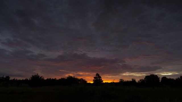 Sunrise Time Lapse Lake Reflection