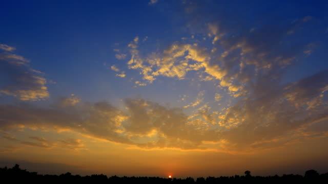 日の出タイムラプス