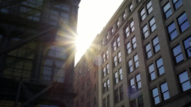 soho sunrise - loft apartment stock videos & royalty-free footage