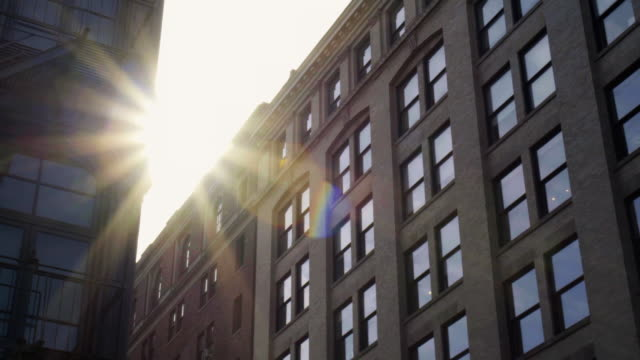 stockvideo's en b-roll-footage met soho sunrise - loft apartment