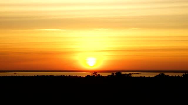 sunset , 4k time-lapse