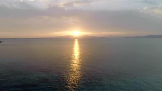 マヨルカ島の海抜サンセット - マヨルカ点の映像素材/bロール