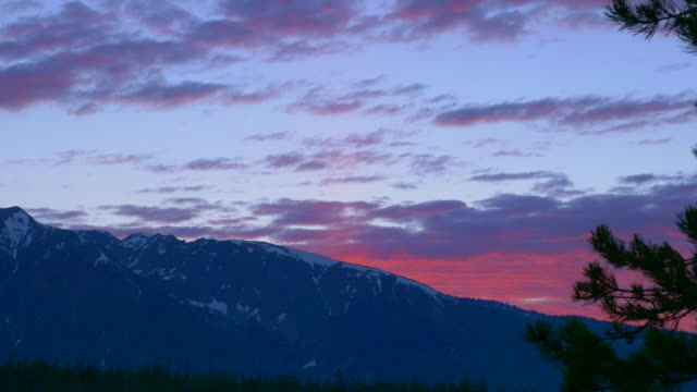 sunset at grand teton - grand teton stock-videos und b-roll-filmmaterial
