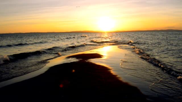 sunset at lake nicaraqua - nicaragua stock videos and b-roll footage