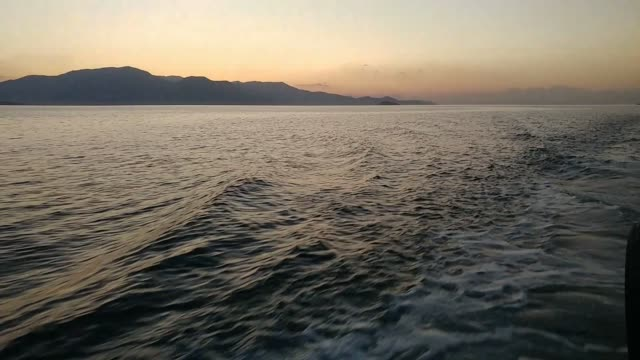 sunset at lake van turkey - lake van stock videos and b-roll footage